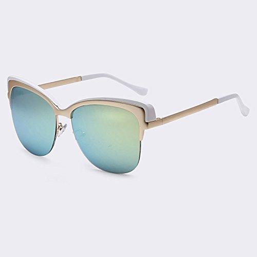 Gafas de C06 Gafas Marco de Senza C03 UV400 sol sombras Semi vintage de de del sol TIANLIANG04 40Zndxd