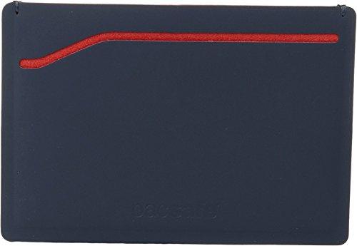 Pacsafe RFIDsafe RFID Blocking TEC Sleeve Wallet, Navy/Red