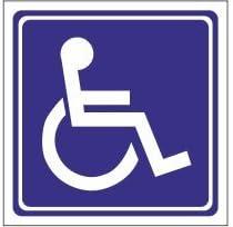 4R Quattroerre.it 1509 - Etiqueta para discapacitados