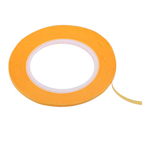 Yellow Masking Tape Multiple Size Home Painting Decoration DIY Spraying Tool - 3mm (3 Mm Edging)