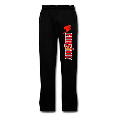 NNKEY Men's Sweatpants Fairy Tail Anime Cartoon Running Pant Workout Pants