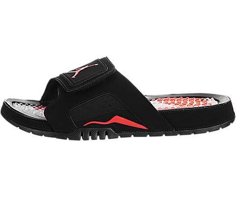 Nike Jordan Hydro 6 Retro Black/Infra Red 23 Men's Sandals Size 13 (Black And Red Jordan 13 Size 6)