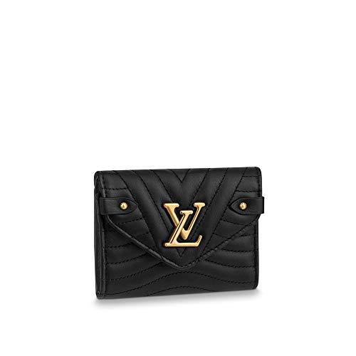 kjelaeg Retro Monogram Practical Compact Wallets Printed Canvas Leather Zipper Coin Purse Pocket for Women