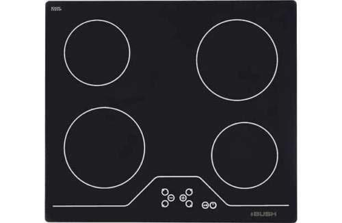 A60C0 Black Knob Control Ceramic Hob - Express Delivery-Bush 161/9074