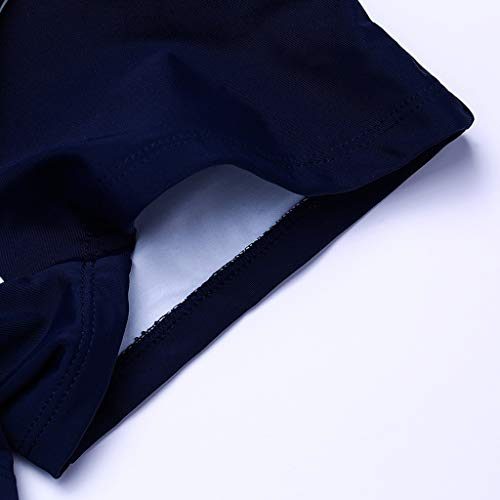 Professionale Immersione Blue bikini costume Black Conservatore Bagno Qrfdain Per Stri Da Americano Europeo E Angolato Sportiva L'estero Copricostume Conico Donna Costume wgptX