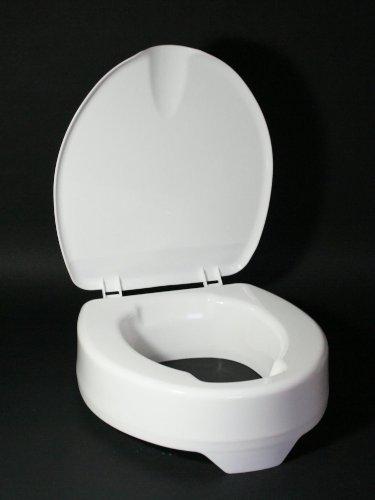 Meyra Ortopedia Modell Molett Toilettensitzerhöhung mit Deckel Toilettenaufsatz