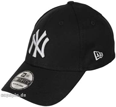 New Era 3930 MLB Black Base NY Yankees Gorra: Amazon.es: Ropa y ...
