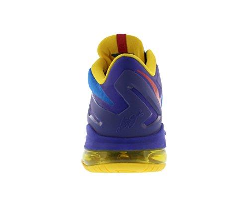 Nike Max Lebron Xi Lave (gs) Store Børn Lys Foto Blå / Udfordre Rød-mørke Concord krhPaQXY