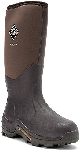 Muck Wetland Rubber Premium Men's Field Boots,Bark,Men's 9 M/Women's 10 M