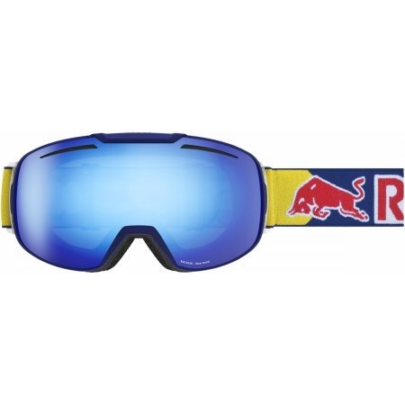Red Bull Buckler Goggle - Matte Navy w/ Smoke Blue Flash Lens by Red Bull