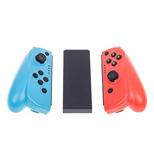 Freaks and Geeks Controller Switch Con – BLU/ Red For Nintendo Switch+ Grip Included (Nintendo Switch//xbox_one//)