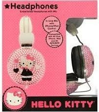 Hello Kitty Headphone with Inline Microphone