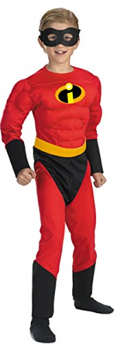 Disguise Costumes Mr Incredible Muscle Child Black/Red (Incredible Family Costumes)