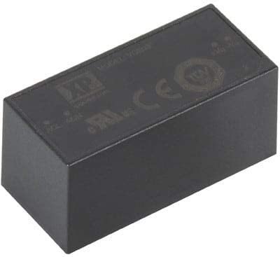 XP POWER VCE03US09 Power Supply; AC-DC; Encapsulated; 3W 9V 333mA; 85-305VAC in; PCB Mount