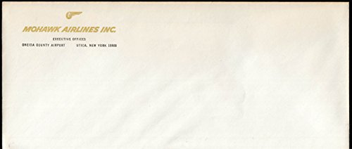 Mohawk Airlines Utica NY unused business envelope ca - Mohawk Airlines