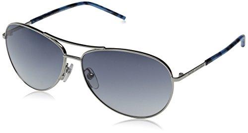 Marc Jacobs MARC59S AviatorSunglasses, Palladium Blue/Gray Gradient, 59 - Gray Gradient Blue