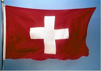Switzerland National Country Flag 3x5 Feet