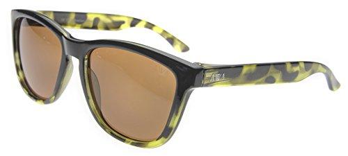 sol gafas las antiarañazos polarizadas 3 de cat hidrófobas Gafas uv400 flotan amp; Negro ultraligeras Carey que Verde Rodas 5CBq4Xw