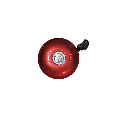 - Firmstrong Classic Beach Cruiser Bicycle Bell, Red