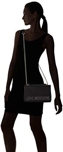 Cartables Pu Galv Grain Nero Moschino Borsa Love Noir nickel Bznqavx6