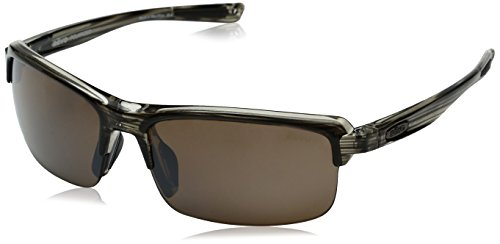 Revo RE 4041X Abyss Wraparound Polarized Wrap Sunglasses, Brown Terra, 66 - Sunglasses Re