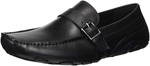 (Kenneth Cole REACTION Men's Toast Driver C Driving Style Loafer, Black, 12 M US )