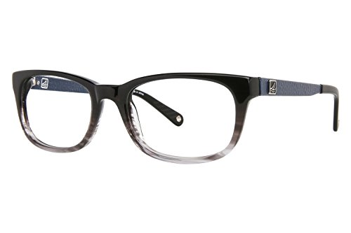 Price comparison product image Sperry Top-Sider Harwich Eyeglass Frames - Frame BLACK FADE, Size 52/17mm
