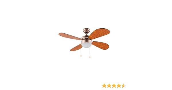 FM - Ventilador techo 105 Luz VT105: Amazon.es: Bricolaje y ...