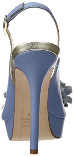 PEDRO MIRALLES Women's 19480 Open-Toe Heeled Shoes Blue (Lavanda) gpR1YFn
