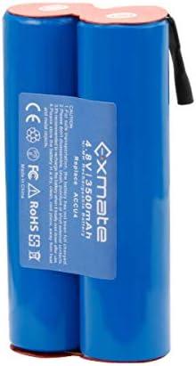 Exmate 7.2V 3.5Ah Bater/ía para Gardena ACCU90 Ni-MH Bater/ía de repuesto
