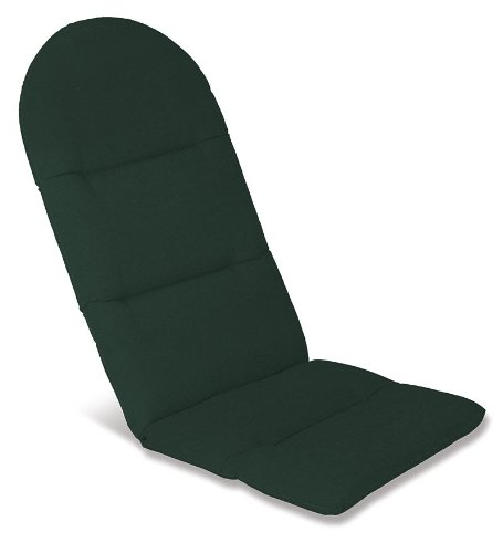 "49"" x 20-1/2"" Weather-Resistant Outdoor Classic Adirondack Cushion, in Forest Green"