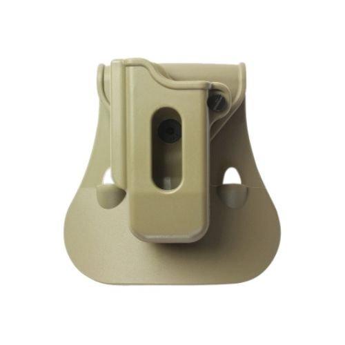IMI Defense ZSP07 Einzelmagazintasche verstellbar drehbar drehung Single Magazine Polymer Pouch für Ruger 40/9 89-95 Series, Sig 226 40/9, Sig 228, 229 9mm Only, S&W 40/59/69 Series, S&W SW99 40/9, Ta