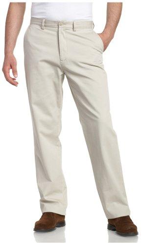 Nautica Men's Sportswear True Khaki Flat Front Pant
