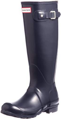 Hunter Womens Original Tall Navy Boot - 8
