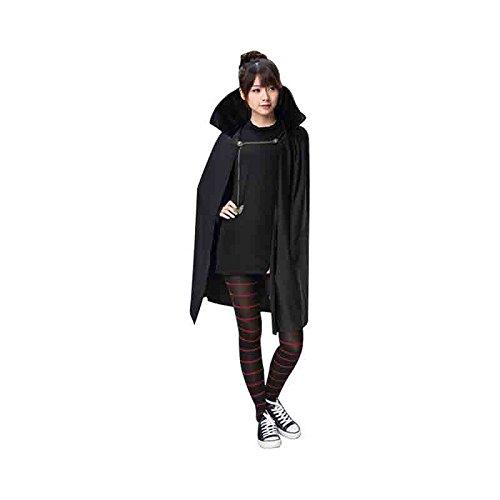 Transylvania Mavis Cosplay Costume Fancy Girls Black Cape Coat Halloween Carnival Costume (130cm)