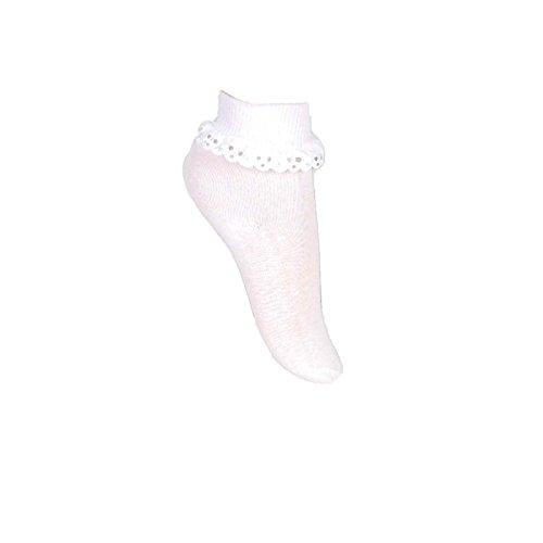 Blanches Plusieurs 3 Chaussettes Froufrous Féminines Pack Adam Tailles 3 Coton Eesa amp; En À Styles wqWIUxZFSP