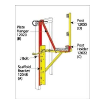 Qualcraft Steel Side Wall Carpenters Staging Bracket