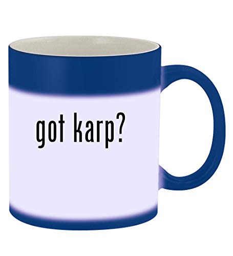 got karp? - 11oz Magic Color Changing Mug, Blue