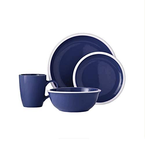 American Atelier 6674-16-WM Hadleigh Dinnerware Set, 10.5x10.5