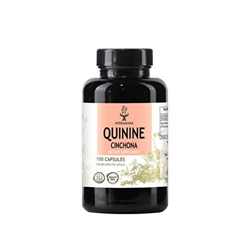 (Quinine Cinchona 100 Capsules, Filled with Quinine Bark (Cinchona officinalis))