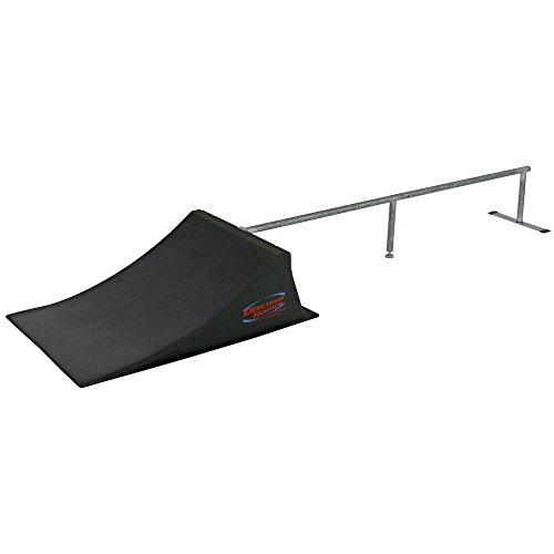 "Discount Ramps SK-904 Black 12"" High Skateboard Launch Ra..."