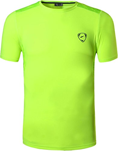 jeansian Uomo Asciugatura Rapida Sportivo Casuale Slim Sports Fashion Maglietta Tee Shirt Tshirt T-Shirts LSL020 1 spesavip