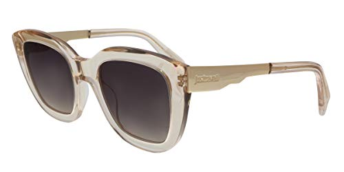Just Cavalli JC754S 57B Transparent Nude Cat Eye Sunglasses for Womens (Just Cavalli Glasses)