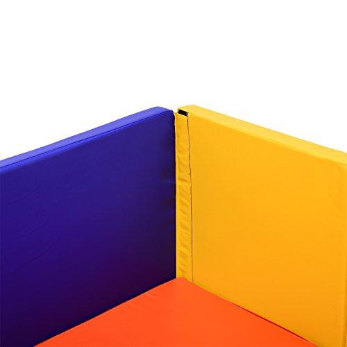 Bestmart INC Multifunction Foldable Portable Gymnastics Mat,playard/playpen panels