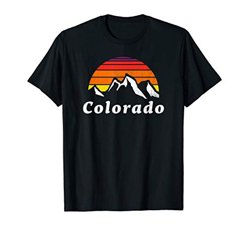 Vintage Colorado Outdoors Retro 70s Rocky Mountain Shirt ()