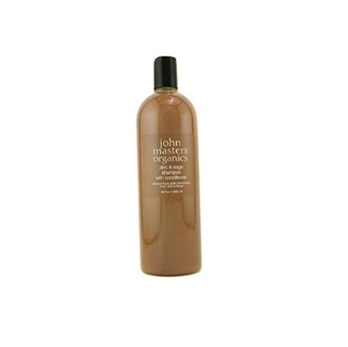 John Masters Organics Zinc & sage shampoo with conditioner, 35 Ounce
