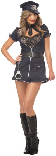Lady Cop Costume Amazon - California Costumes Women's Candy Cop Costume,Navy,X-Large