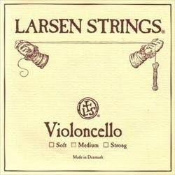 Larsen 1/2 Size Cello Strings L332-102 Set, Medium Tension