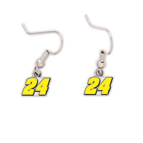 Jewelry Nascar - Wincraft NASCAR Jeff Gordon 57160010 Earrings Jewelry Card