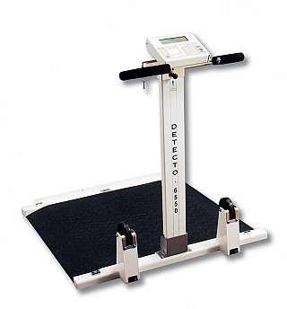 - Folding Portable Wheelchair Scale